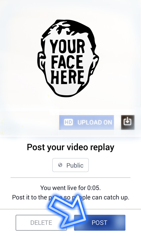 facebook live company page